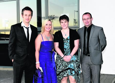 Cameron Davidson, Carol Fraser, Sarah-Jane Paterson and David Christie