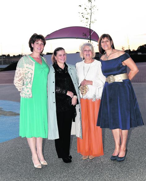 Alison Rees, Margaret Fernie, Carolyn Cameron and Sheena Gray