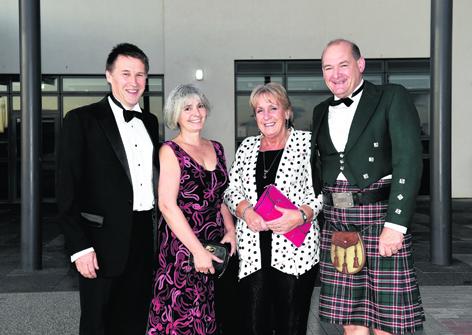 Richard and Liz Hamilton with Jean and Tim Eley