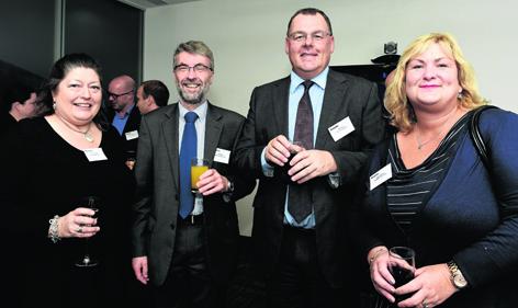 Anne Alexander, Neil Bruce, Gary Craig and Gayle Gorman