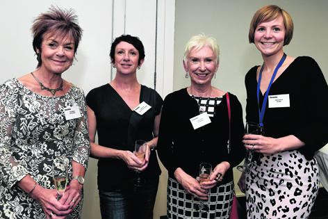 Paula Gibson, Becky Minto, Louise Baxter and Hayley Barker
