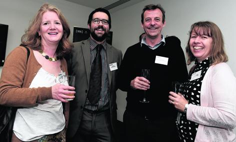 Fiona Robertson, David Officer, Simon Shankley and Jacky Hardacre