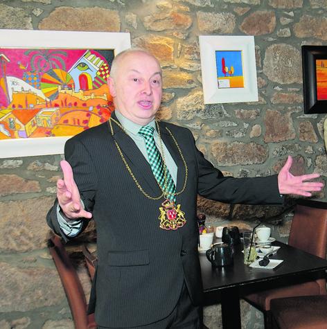 Aberdeen's Lord Provost George Adam
