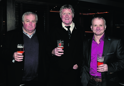 Colin Nicol, Graham Lumsden and Martin Angus