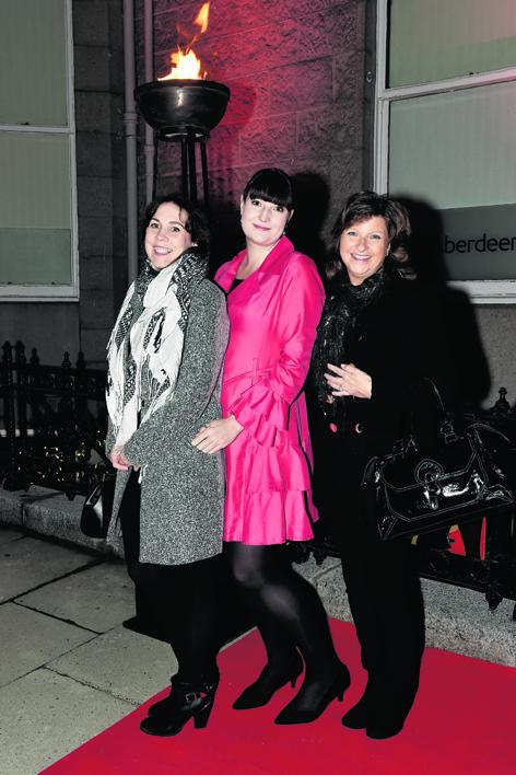 Jam Paxton, Louisa McCallum and Sandra Boyes
