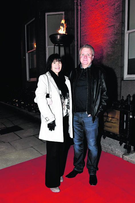 Helen Chalmers and Gary Cruickshank