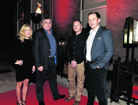 JillianSheran, Allan Henderson, Alan Aitken and Darren McRae