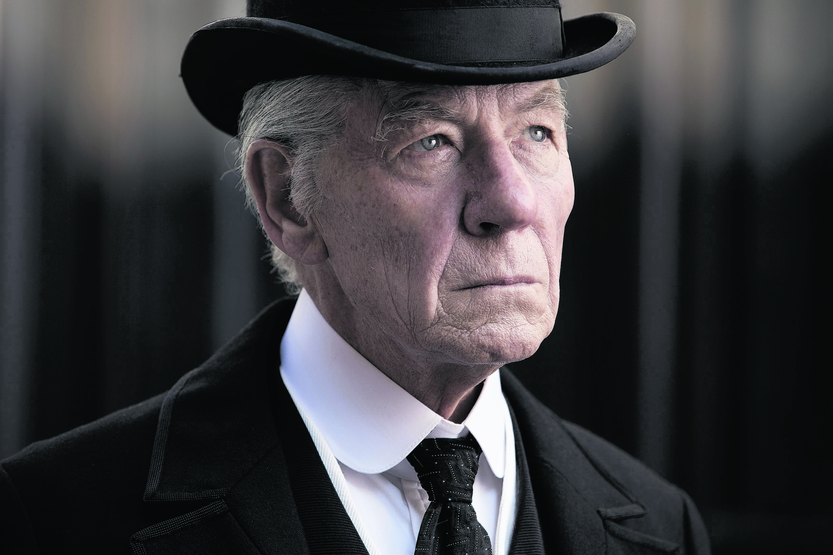 Sir Ian McKellen as Sherlock Holmes