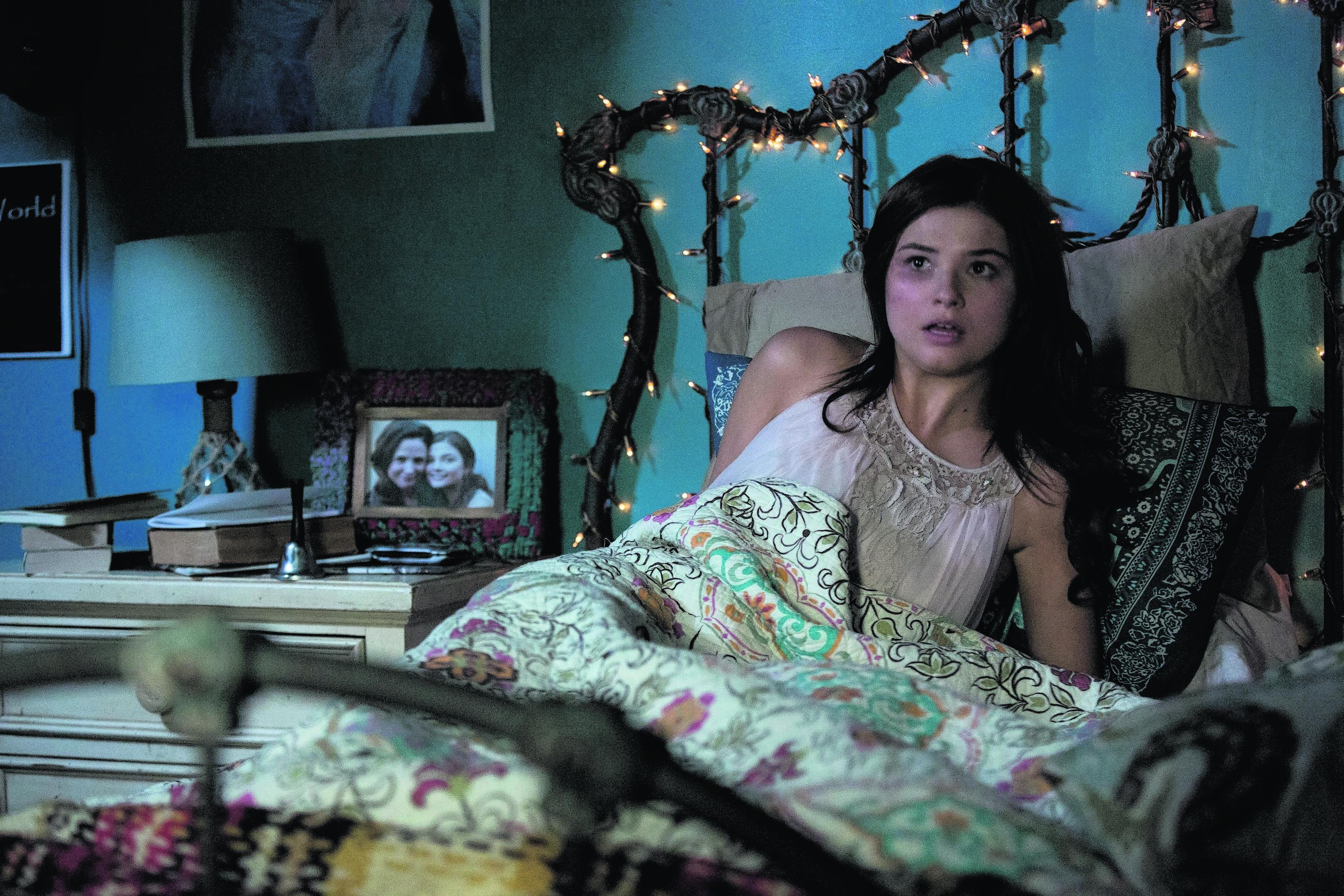 Stefanie Scott as Quinn Brenner in Insidious: Chapter 3