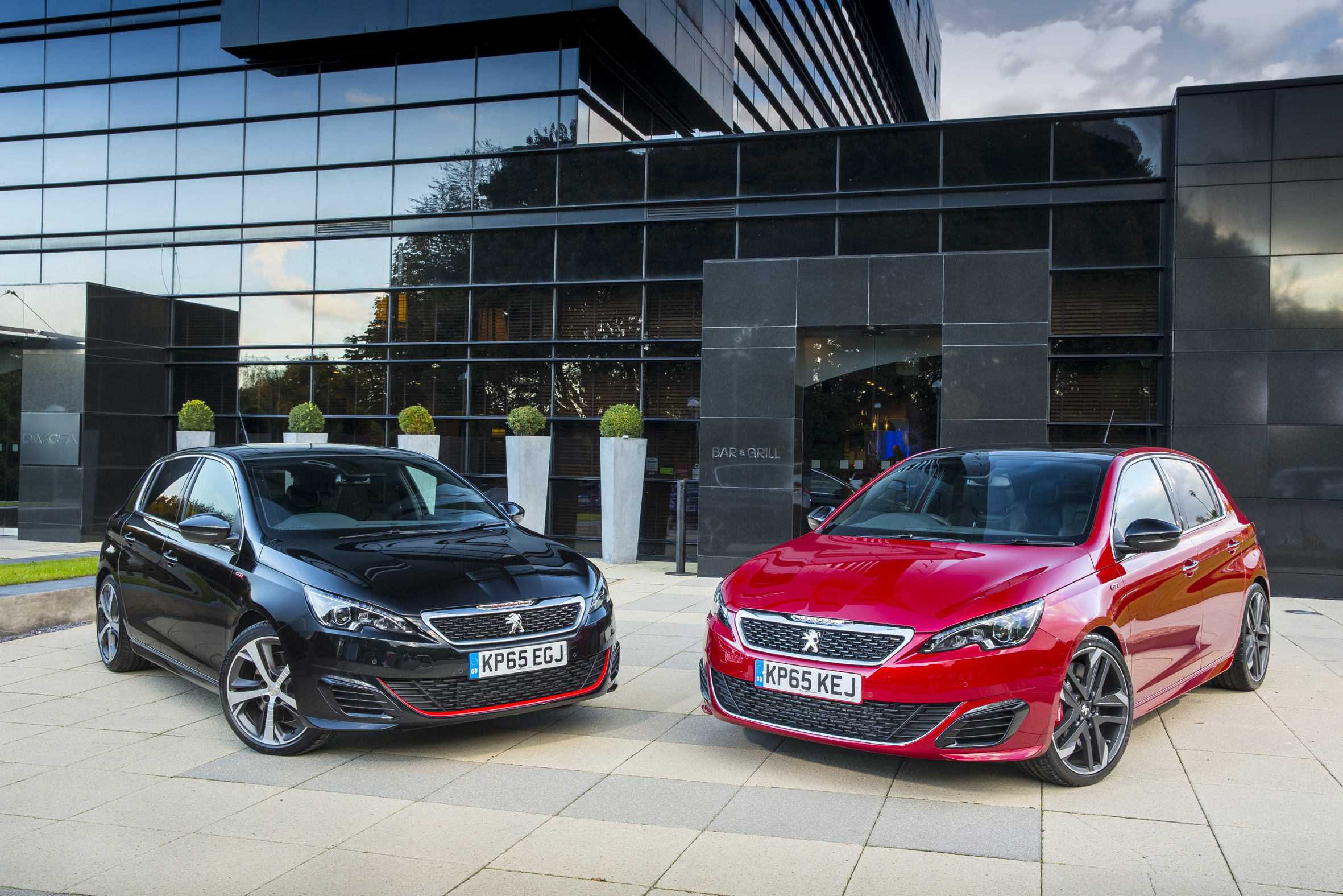 2016 Peugeot 308 GTi 270 (left) and 250