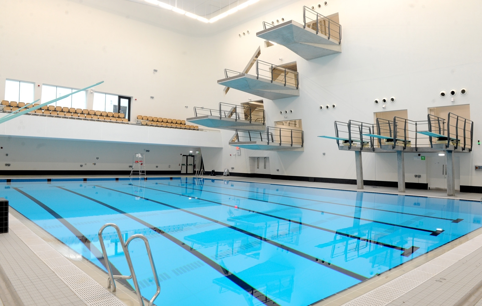The pool at Aberdeen Sports Village's aquatic centre