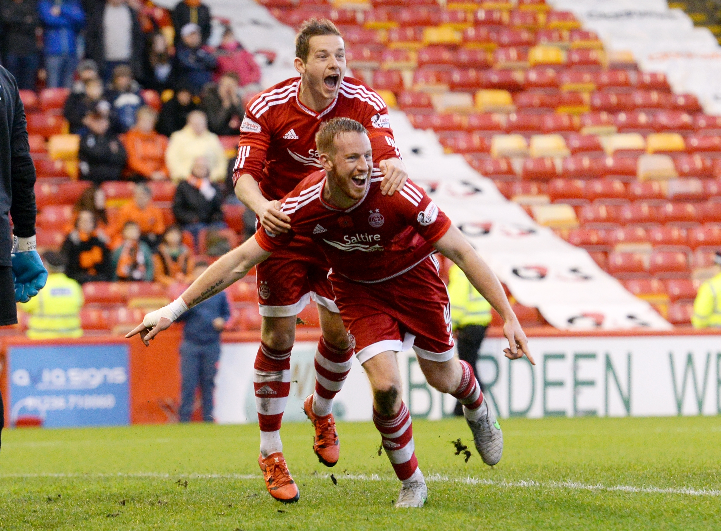 Rooney was on the scoresheet again against Dundee United