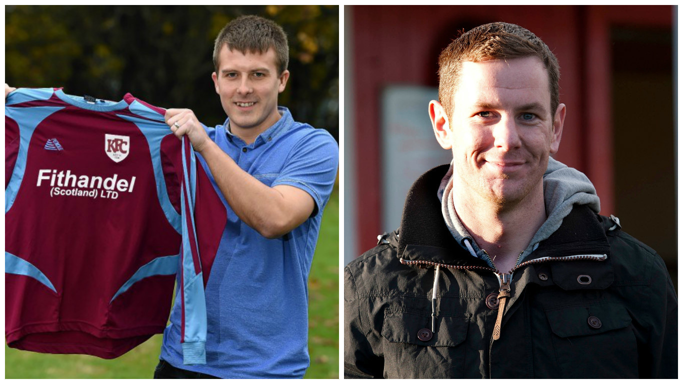 Allan Hale will face fellow new boss Fraser Bremner