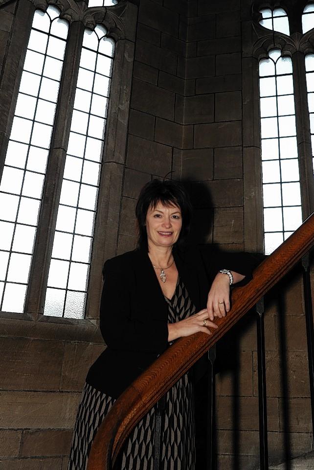Anne Glover of Aberdeen University