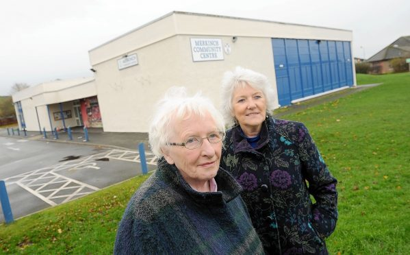 Anne McCreadie (left) Chairman of the Merkinch Community Centre Association photographed at the centre with Elsie Normington, Development Officer