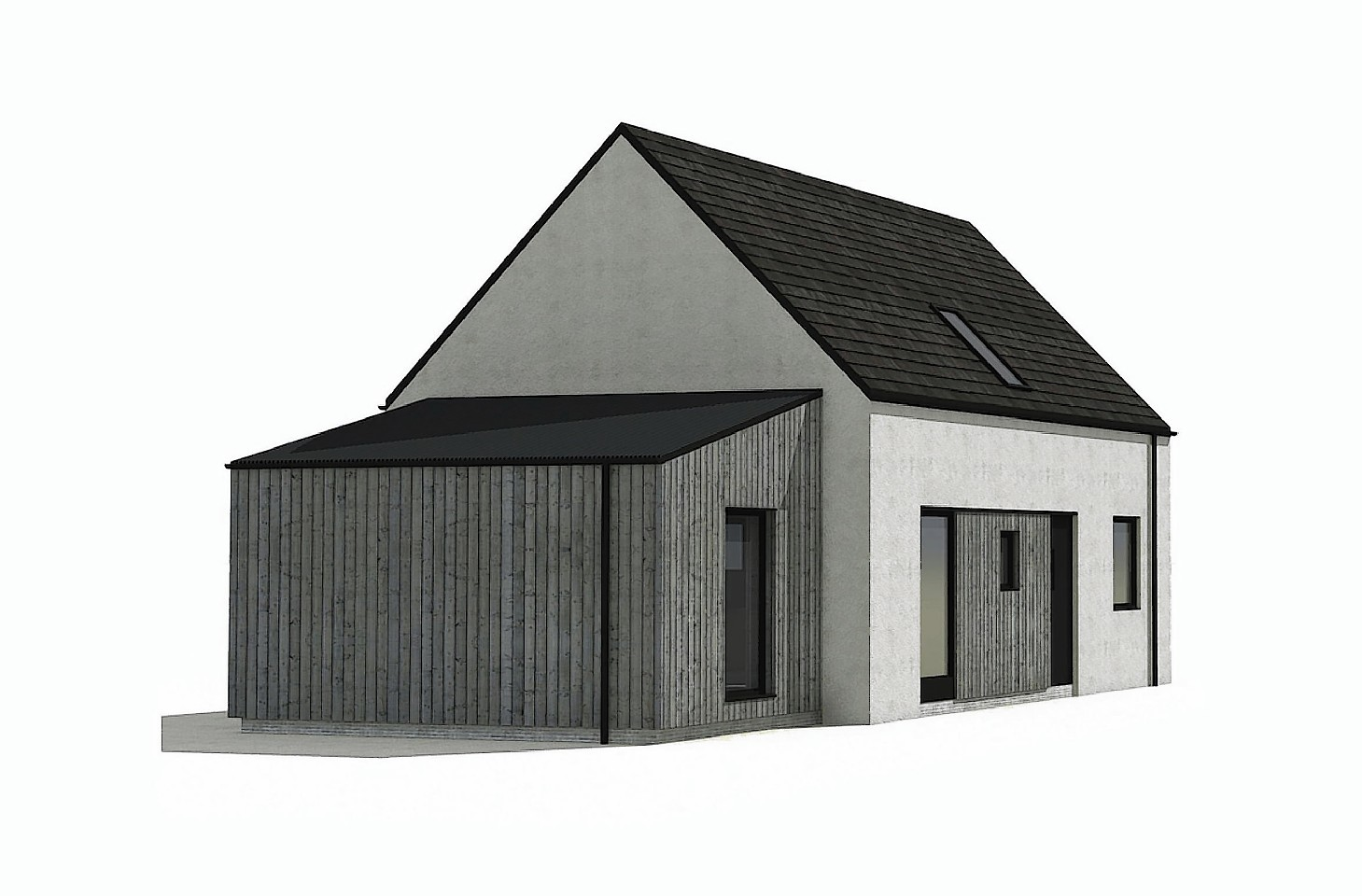 Artist impression of new housing in Auldearn