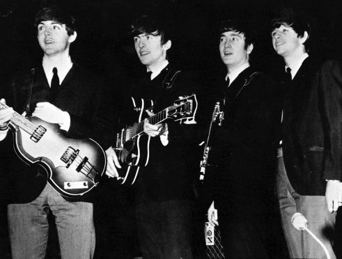 The Beatles in Aberdeen playing at The Beach Ballroom in 1963