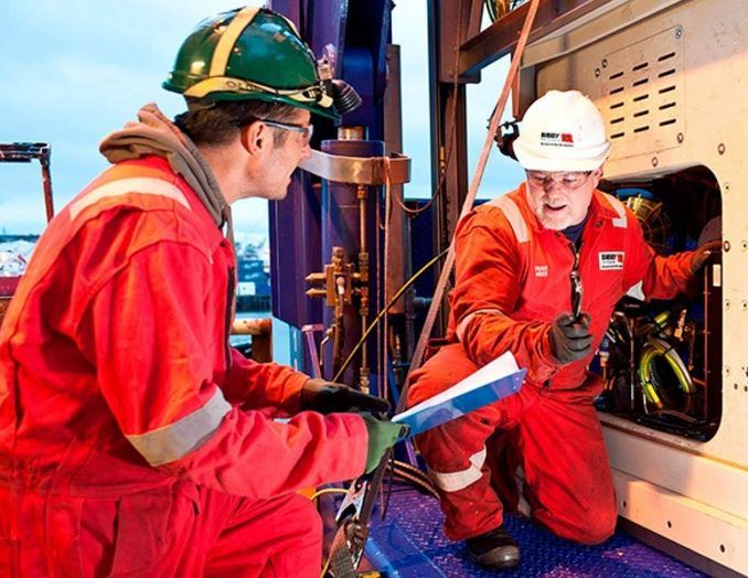 Offshore workers