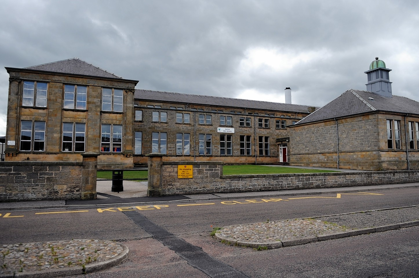 Buckie High School will close due to a break out of staff illness