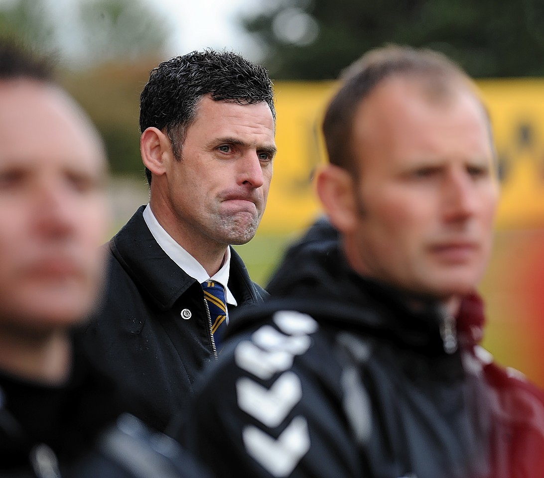 A frustrated Charlie Rowley
