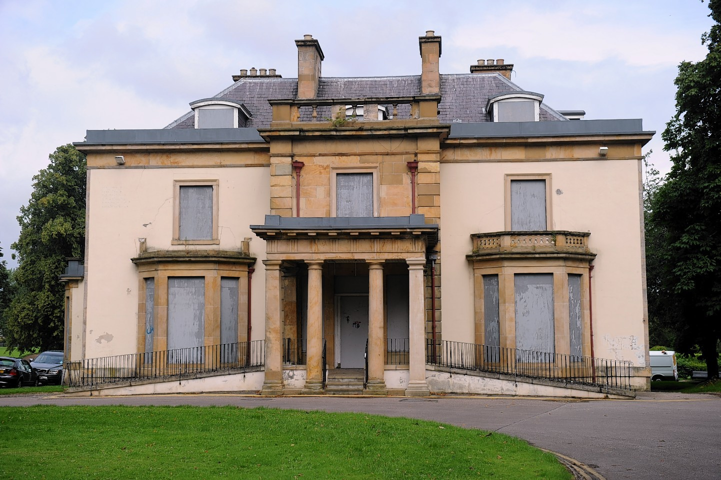 Grant Lodge, Cooper park, Inverness