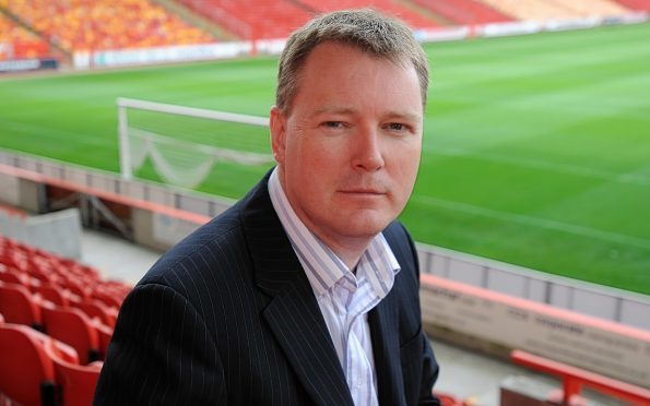 Dons chief executive Duncan  Fraser