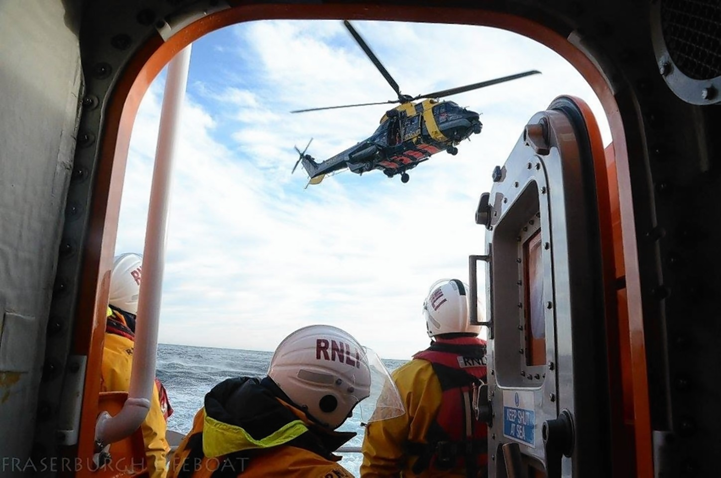 Picture courtesy of Fraserburgh Lifeboat facebook page