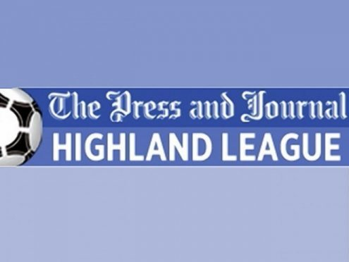 Today's results from the Highland League