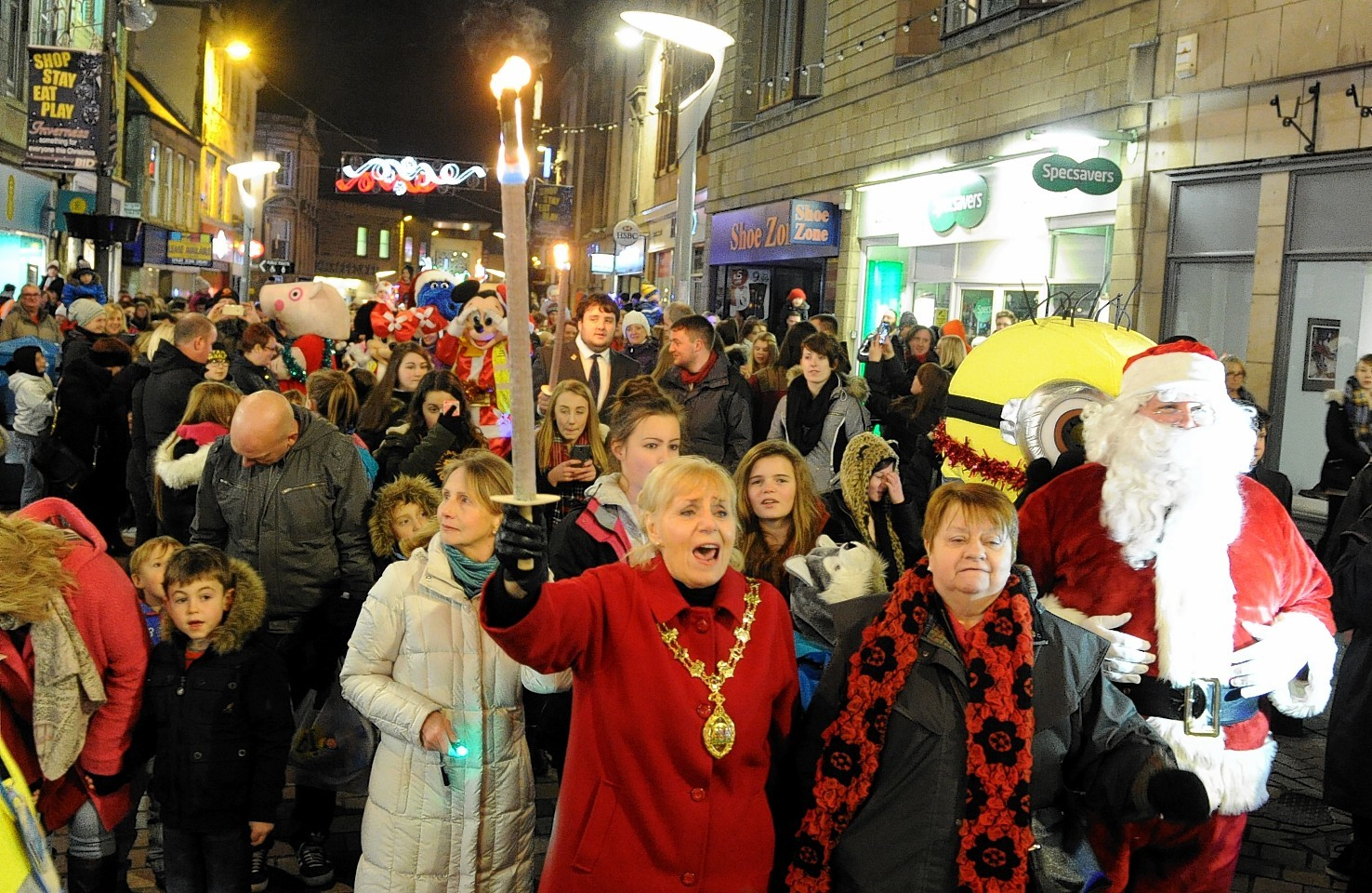 Inverness Christmas lights switch-on