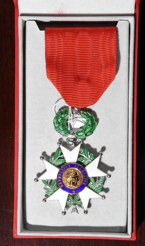 Jim Glennie's medal