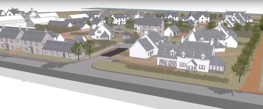 Aberdeenshire Council's Marr area committee yesterday backed the proposal for a mixed housing development at Kincardine O'Neil