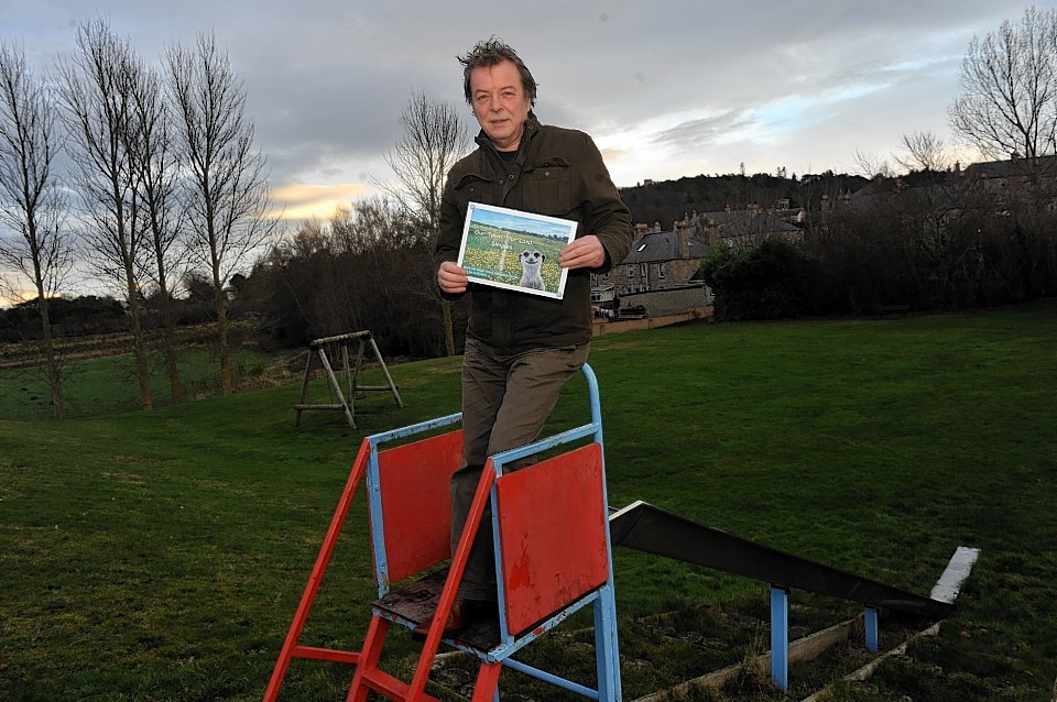 Forres resident Stewart Noble spearheaded opposition to the plans