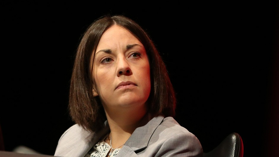 Kezia Dugdale said she opposed air strikes