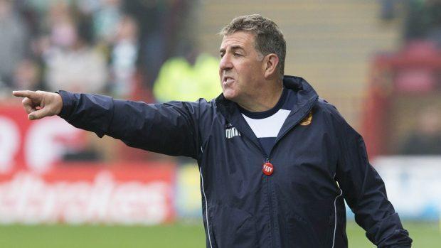 Motherwell manager Mark McGhee