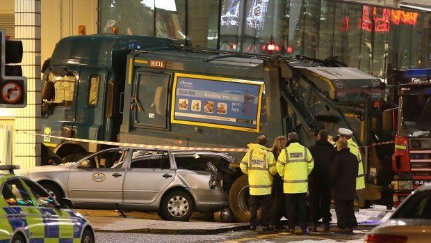 Six people died in the bin lorry crash