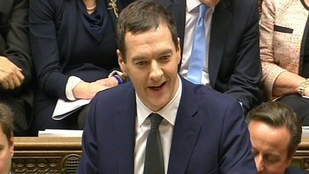 George Osborne said the UK would live within its means
