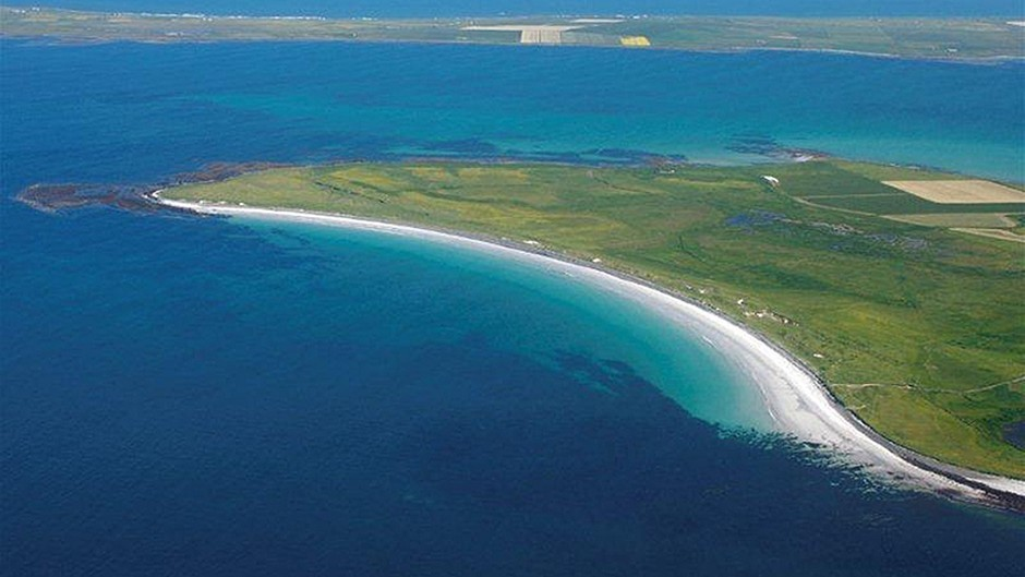 The Orkney Islands in Scotland