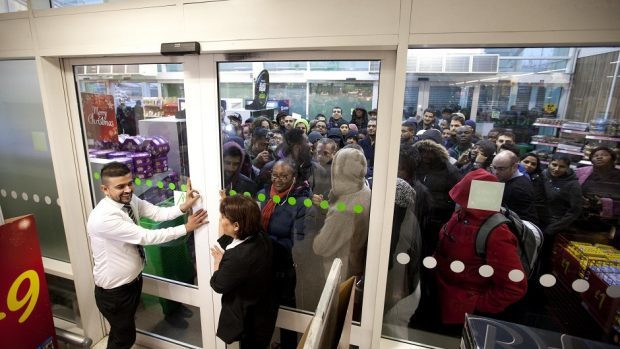 Yesterday proved quieter than last year's Black Friday madness