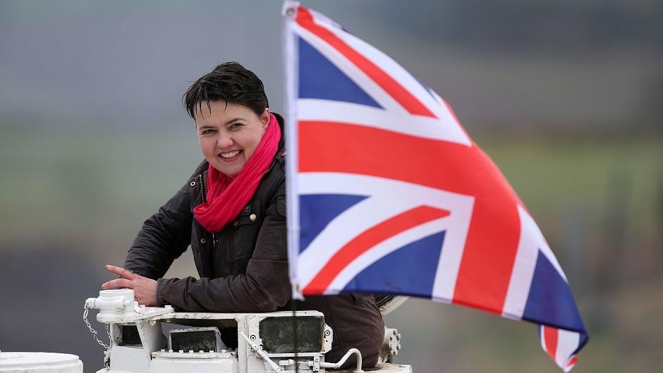 Ruth Davidson backs air strikes in Syria