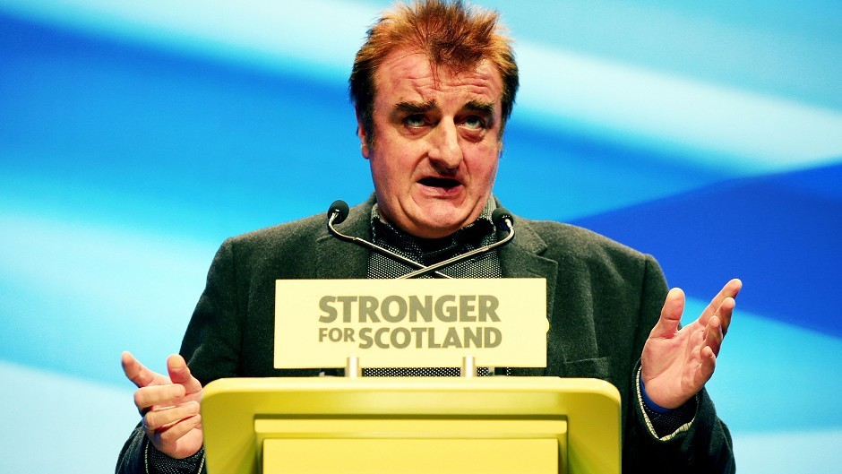 Wesminster SNP MP Tommy Sheppard