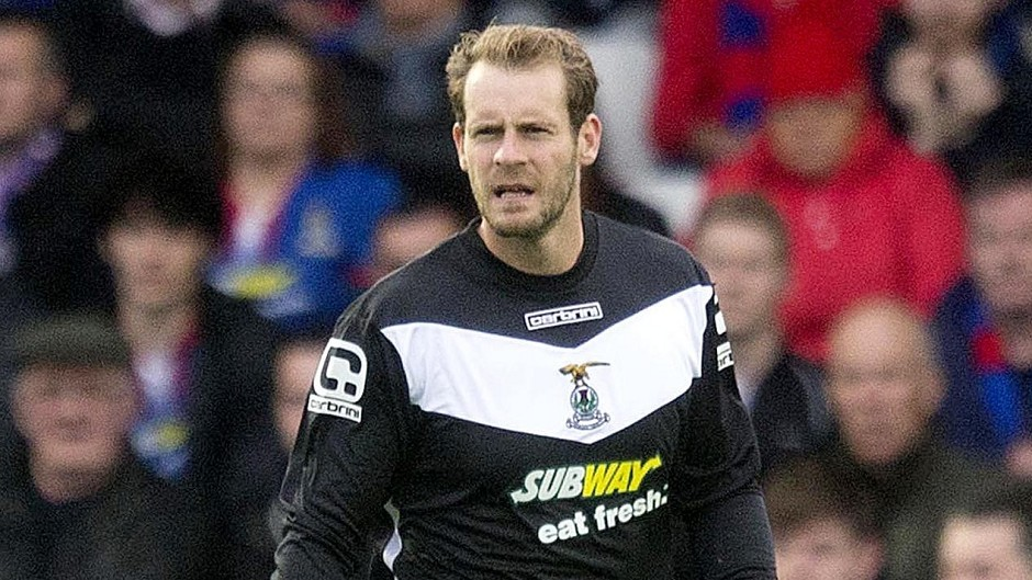 Former Caley Thistle goalkeeper Owain Fon Williams.