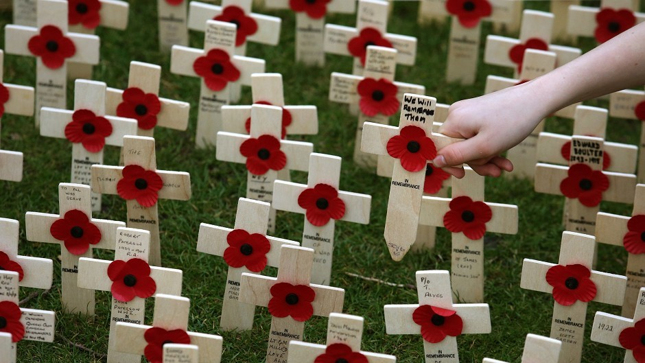 Crosses of remembrance