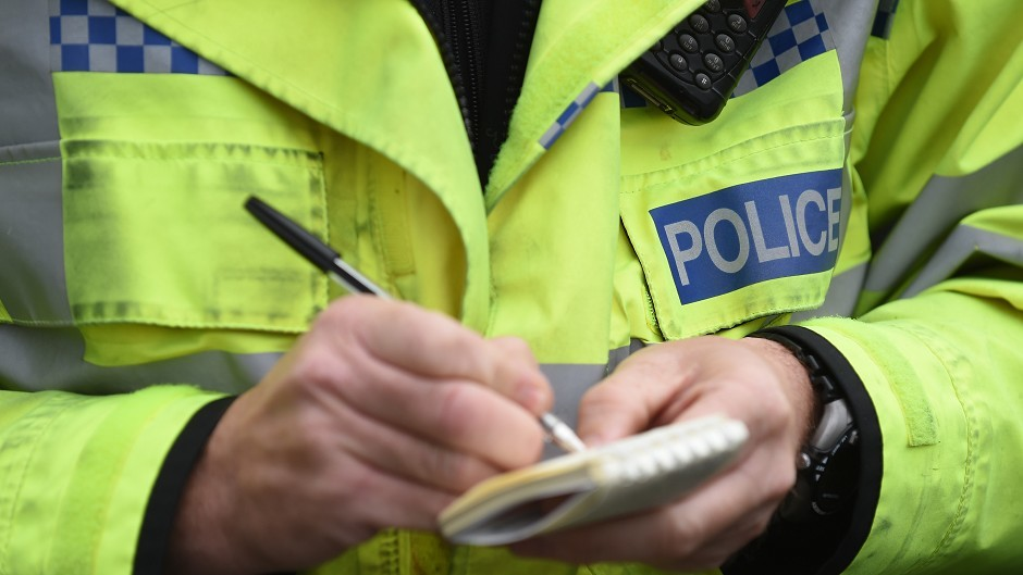 A further warning of traffic problems has been issued by police after a lorry came off of an Aberdeenshire road.
