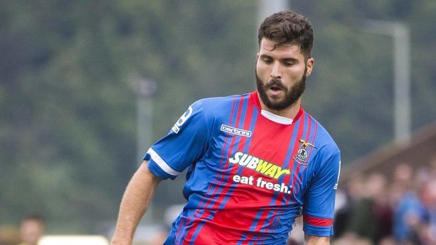 Dani Lopez netted just once in 10 appearances for Caley Thistle.