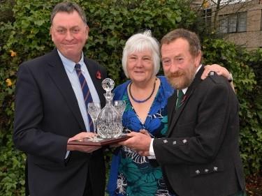 Pete Watson, Ann and Morrice Innes.
