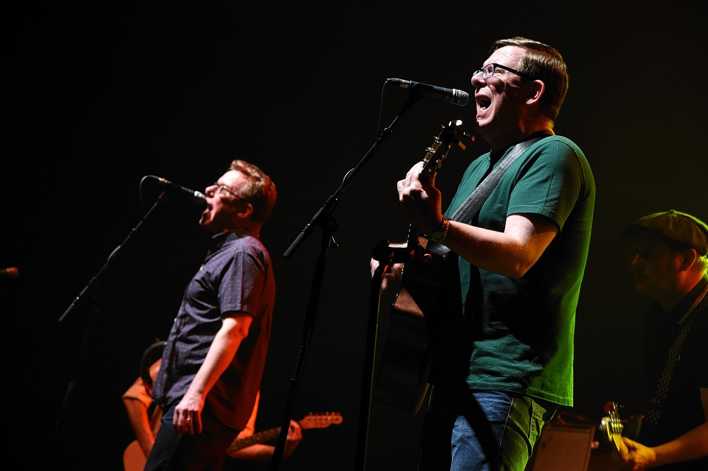 The Proclaimers on stage at the AECC.  Pictures by Kenny Elrick