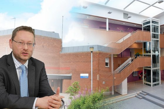 Richard Thomson outlined his vision