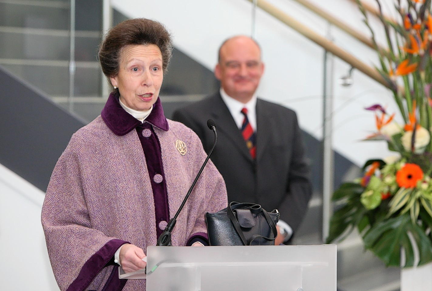 Official opening of the Inverness UHI campus by Princess Anne.