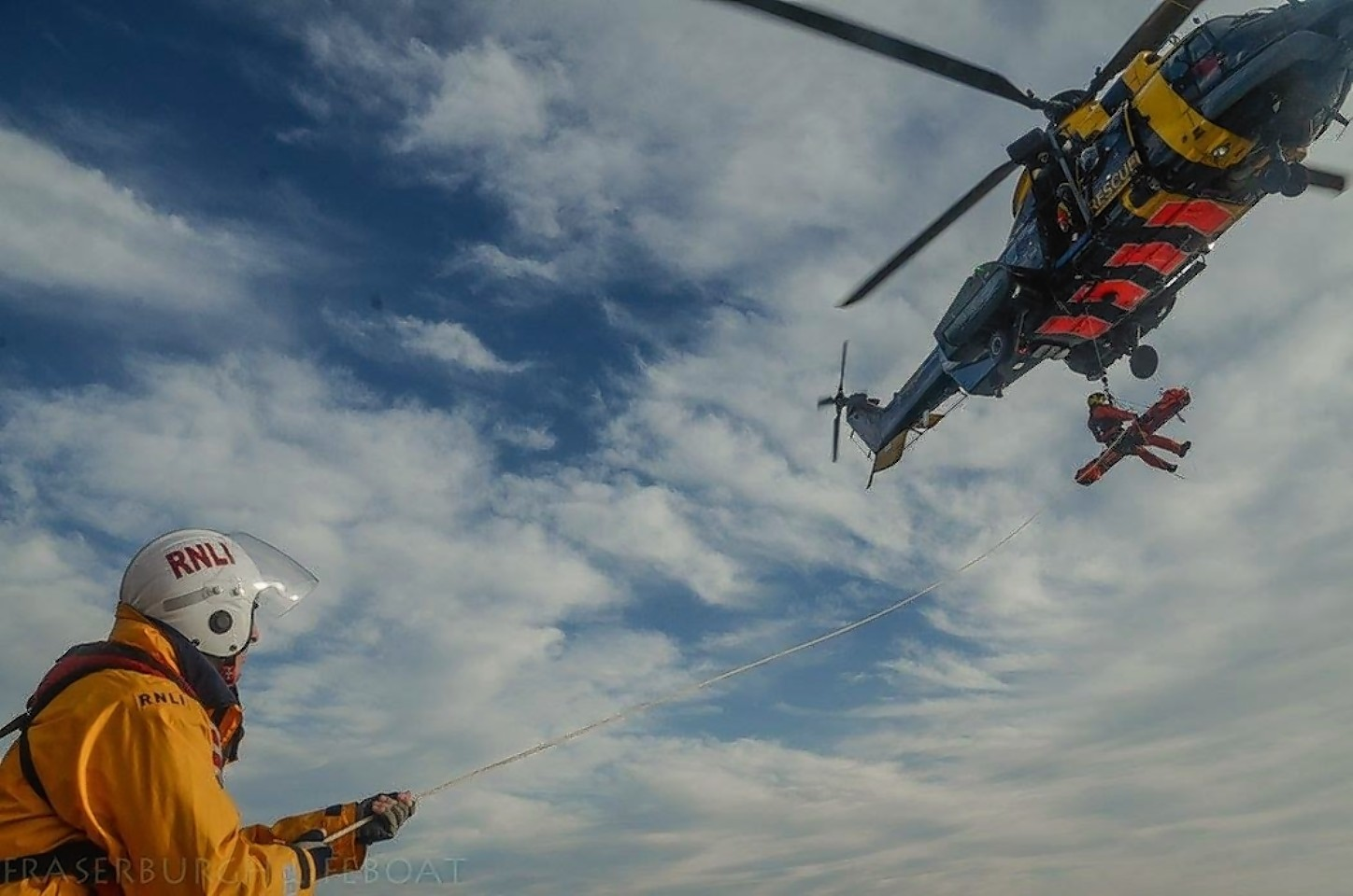 Picture courtesy of Fraserburgh Lifeboat volunteers