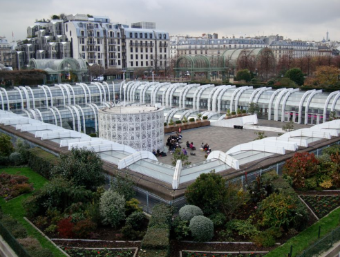 The incident is understood to have taken place at Les Halles.